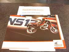 Honda ns125f Deportes folleto de ventas