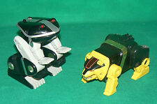 POWER RANGERS ours + grenouille frog bear  Zord megazord BANDAI Mighty Morphin