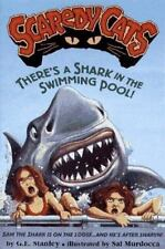 There'S A Shark In The Swimming Pool!: Scardy Cats#3 (Scaredy Cats)-ExLibrary