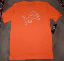 NEW NFL Detroit Lions Youth Boys T Shirt XL X-Large 18 Bright Orange NEW NWT