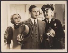 Norman Foster Judith Allen P. Pratt Behind the Green Lights '35 movie photo 1126