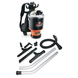 HOOVER C2401 Backpack Vacuum,Disposable Bag,9.2 lb.