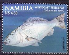 Namibia 2011 MNH, Westcoast Steenbras, Marine Life, Fish