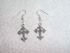 Religious Cross Pair of Earrings Jewelry Piercing Fashion Custom