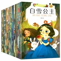 Classic 20 Books Chinese and English Mandarin Bedtime Story Book Fairy Tales