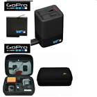 AADBD-001 GoPro DUAL BATTERY CHARGER  BATTERY  HARD CASE FOR GOPRO HERO6