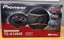 "PIONEER TS-A1686R 6.5"" A-Series 350-Watt 4-Way Speakers TSA1686"