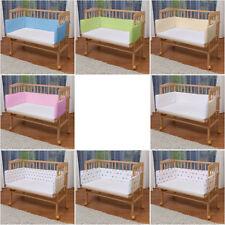 WALDIN Baby Beistellbett,Wiege,Babybett, mit Nestchen und Matratze ! 8 Farben