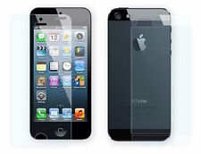100 x LCD Full Protective Screen Cover Film Front + Rear for Apple iphone 5 & 5S