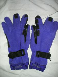 Pearl Izumi Purple Fleece Winter Gloves-Medium