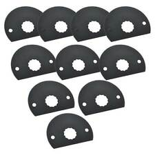 80mm HSS Semi-Circular Multi-Tool Saw Blades 10PK Fits Fein Supercut Oscillating