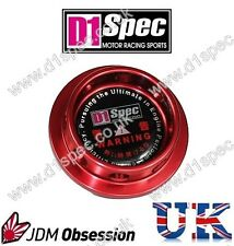 D1 SPEC OIL FILLER CAP C RED TOYOTA SUPRA MR2 COROLLA CELICA YARIS RAV4 STARLET