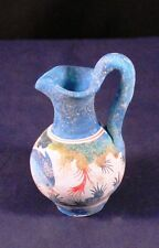 """Lovely 3"""" Painted Chalkware Pitcher Decor Figure"""