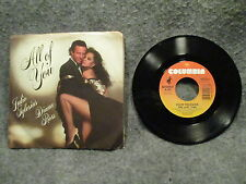 """45 RPM 7"""" Record Julio Iglesias & Diana Ross All Of You & The Last Time 38-04507"""