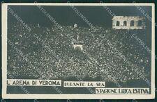 Verona Città Lirica Arena Foto cartolina QK7312