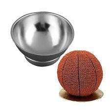 3D Sports Half Ball Cake Pan Set Basketball Fondant Mold Kitchen Bake Ware Tools