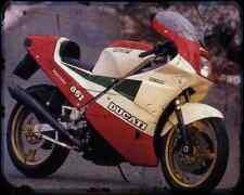 Ducati 851 Superbike Kit 2 A4 Metal Sign Motorbike Vintage Aged