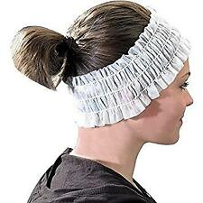 Econo Disposable White Headbands (100)