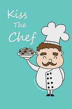 USED (LN) Blank Recipe Book: Kiss the Chef by Recordkeeper Press