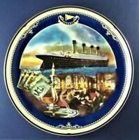THE SMOKING ROOM Plate Titanic: Queen of the Ocean #4 James Griffin +COA