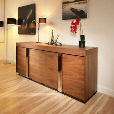 Walnut Modern Sideboards, Buffets & Trolleys