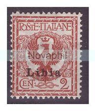 LIBIA  1912  -  FLOREALE -   2  CENTESIMI   NUOVO **