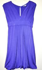 NEW LOOK Ladies Purple Dress Silky Cocktail Size 12