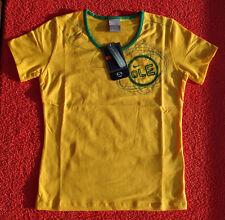 Original NIKE Damen TOP Gelb Grün WM Brazil Brasilien Oberteil T-Shirt Gr. M NEU