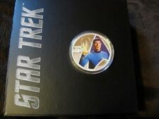 2015 1oz, 99.9% Pure Silver Coin; Mr. Spock, original STAR TREK; Perth Mint