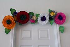 Bridal garland,wedding garland,paper flower garland,paper flower decor, 4 ft.