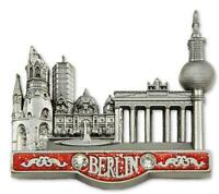 Berlin Metall Magnet Brandenburger Collage Reise Souvenir Germany