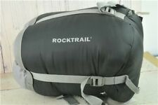 Rocktrail Sleeping Bag Black & Green Thermolite Mummy Style in Bag