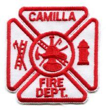 Camilla Fire Department Dept FD Rescue EMS Patch Georgia GA Patches - SKU51