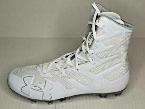Under Armour Sz 9//6.5 UA Highlight MC Men NEW 3020267-101 White Football Cleats