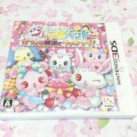 USED Nintendo 3DS jewelpet mah? de oshare ni dansu ☆ deko 36213 JAPAN IMPORT