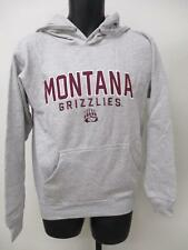 Neuf Montana Grizzlies Hommes TAILLE S gray Capuche