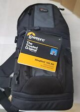 LOWEPRO SlingShot 102 AW DSLR Camera Sling Shoulder Bag BNWT W/All Weather Cover