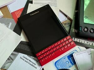 BlackBerry Passport Q30 sqw100-1 - Red - 32GB (Unlocked) Smartphone ON Sale!