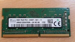8GB 1Rx8 PC4-2400T DDR4 260Pin SODIMM Laptop Notebook Memory RAM SK Hynix