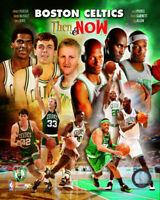 Then & Now Garden Boston Celtics 8 X 10 Photo AAKA039
