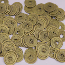 50PCS Replica Feng Shui Brass China Qing Dynasty Coins Random Emperor Crafts