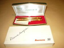 AURORA 98 LAMINATA GADGET ALITALIA SET PENNA STILOGRAFICA RISERVA MAGICA + BIRO