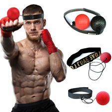 Fight Boxeo Ball Reflex Speed Training Head Band  Boxing...