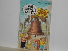 "Vtg. The Family Circus ""We Didn't Do It"" Comic Strip by Fawcett Gold Paperback"