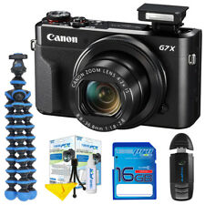 Canon PowerShot G7 X Mark II 20.1MP Digital Camera - Deal-Expo Starter Bundle
