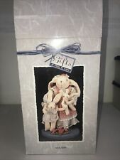 Gifts By House Of Lloyd Sock Hops #301263 Bunny Rabbit Doll Family Stand New Nib