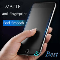 Full Matte Glass Screen Protector for iPhone 6 6s 7 8 Plus X XR XS 11 Pro MAX