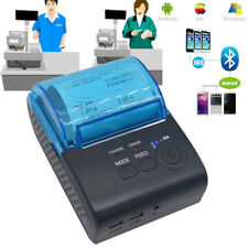Portable Thermal Printer Bluetooth Receipt For Windows Android iOS Mobile ay2