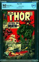 Thor #150 CBCS VF/NM 9.0 Off White to White Marvel Comics