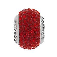 Genuine Lovelinks Red Crystal Bead 1183986-24